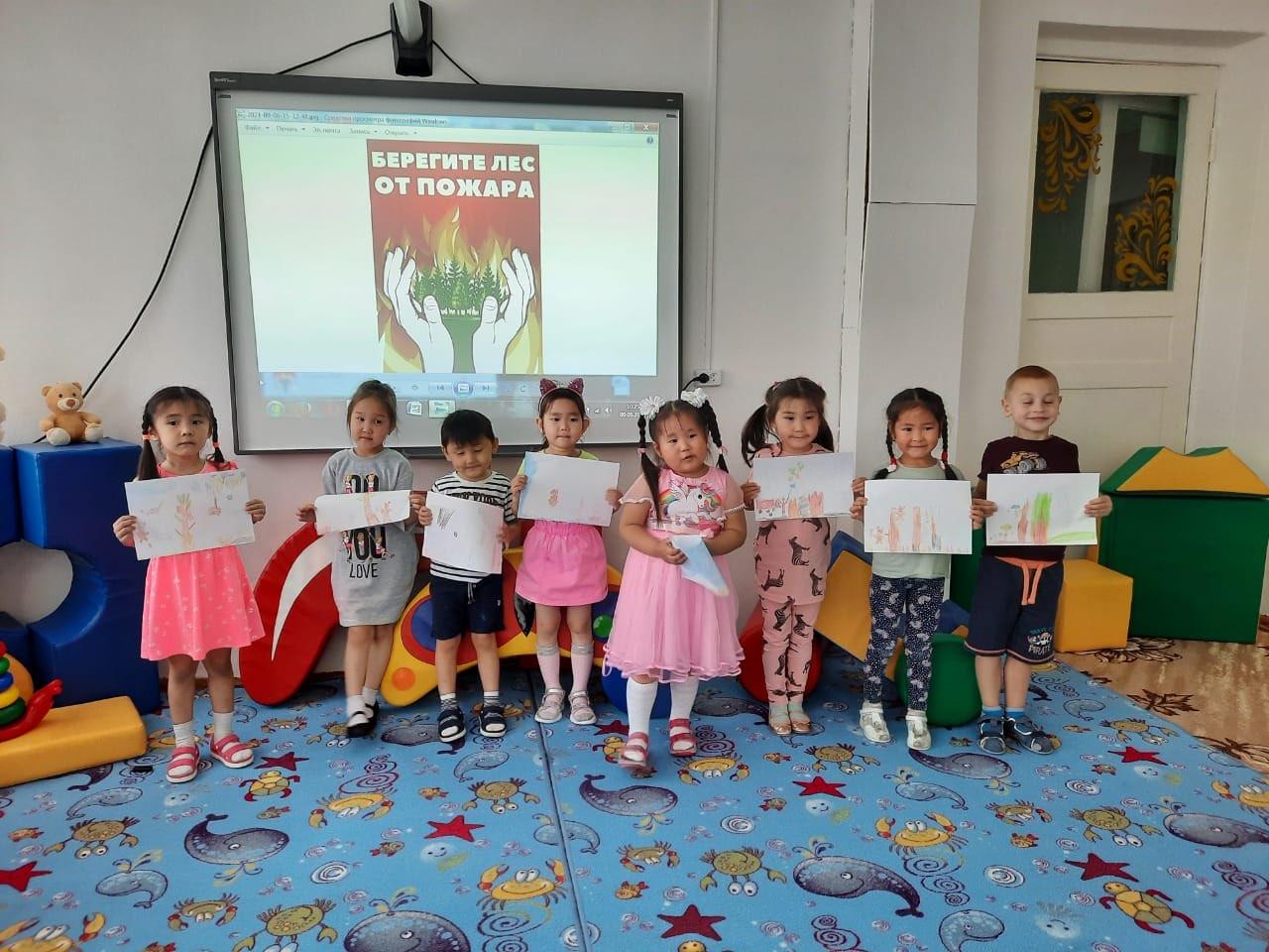 С 6 по 9 сентября дошкольные образовательные организации Усть-Янского улуса (района) приняли активное участие в Республиканской акции «БитваЗаТайгу»